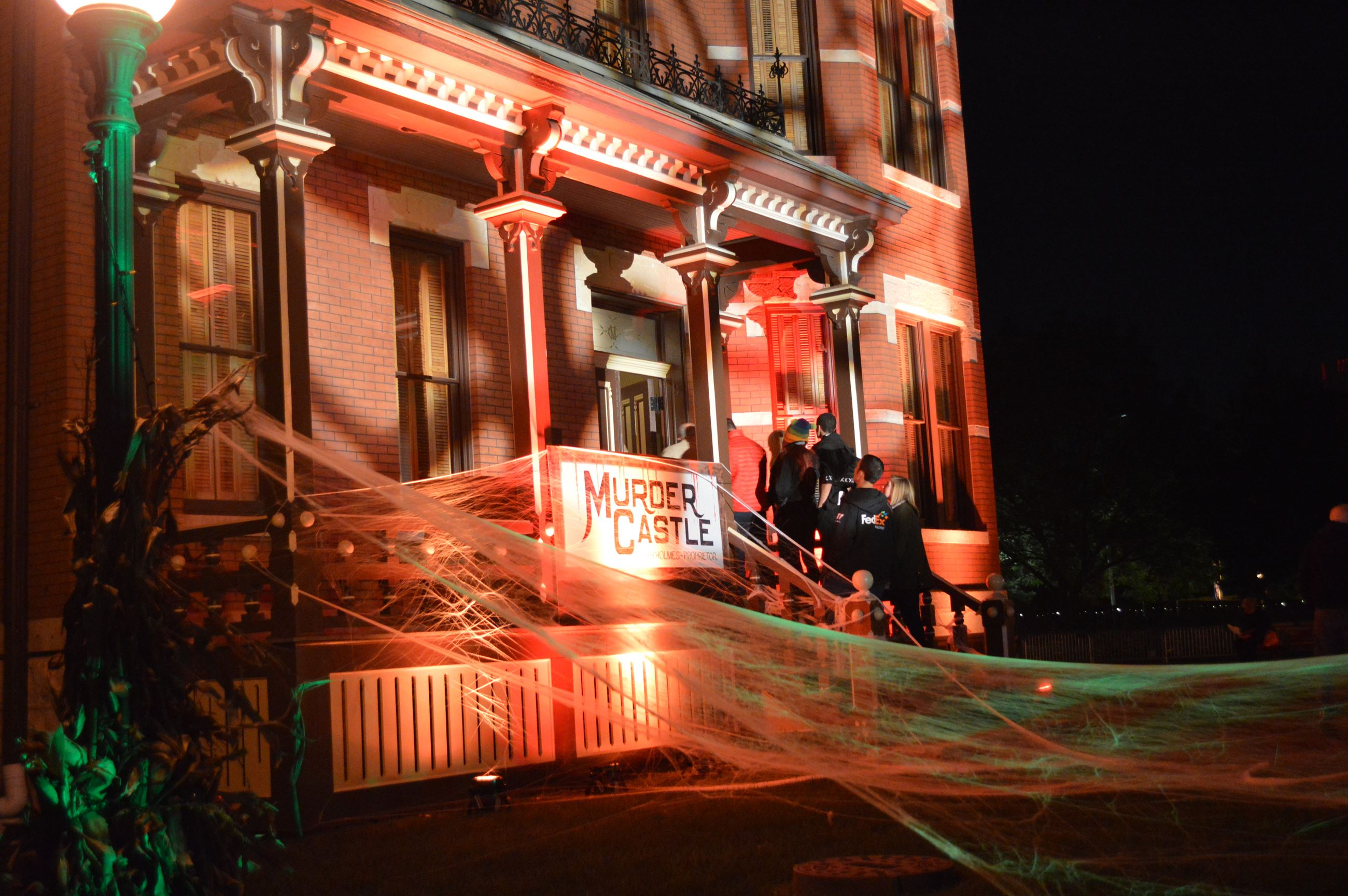 All Hallows Eve Martin Mitchell Mansion