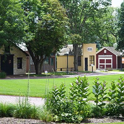 Museum Grounds at Naper Settlement