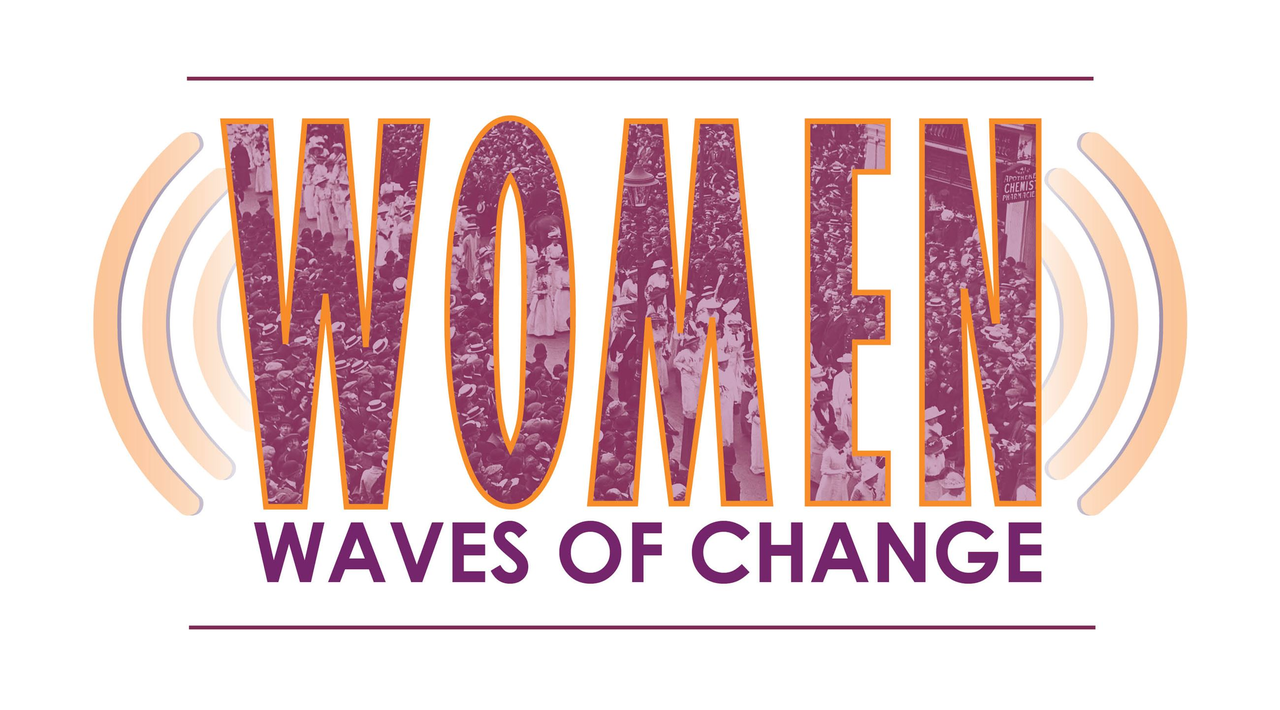 Women: Waves of Change Logo