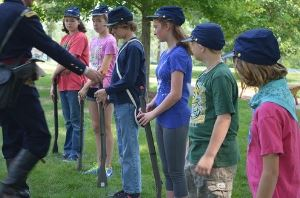 Civil War Camp at Camp Naper