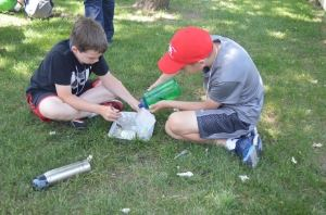 Camp Naper Science Experiments