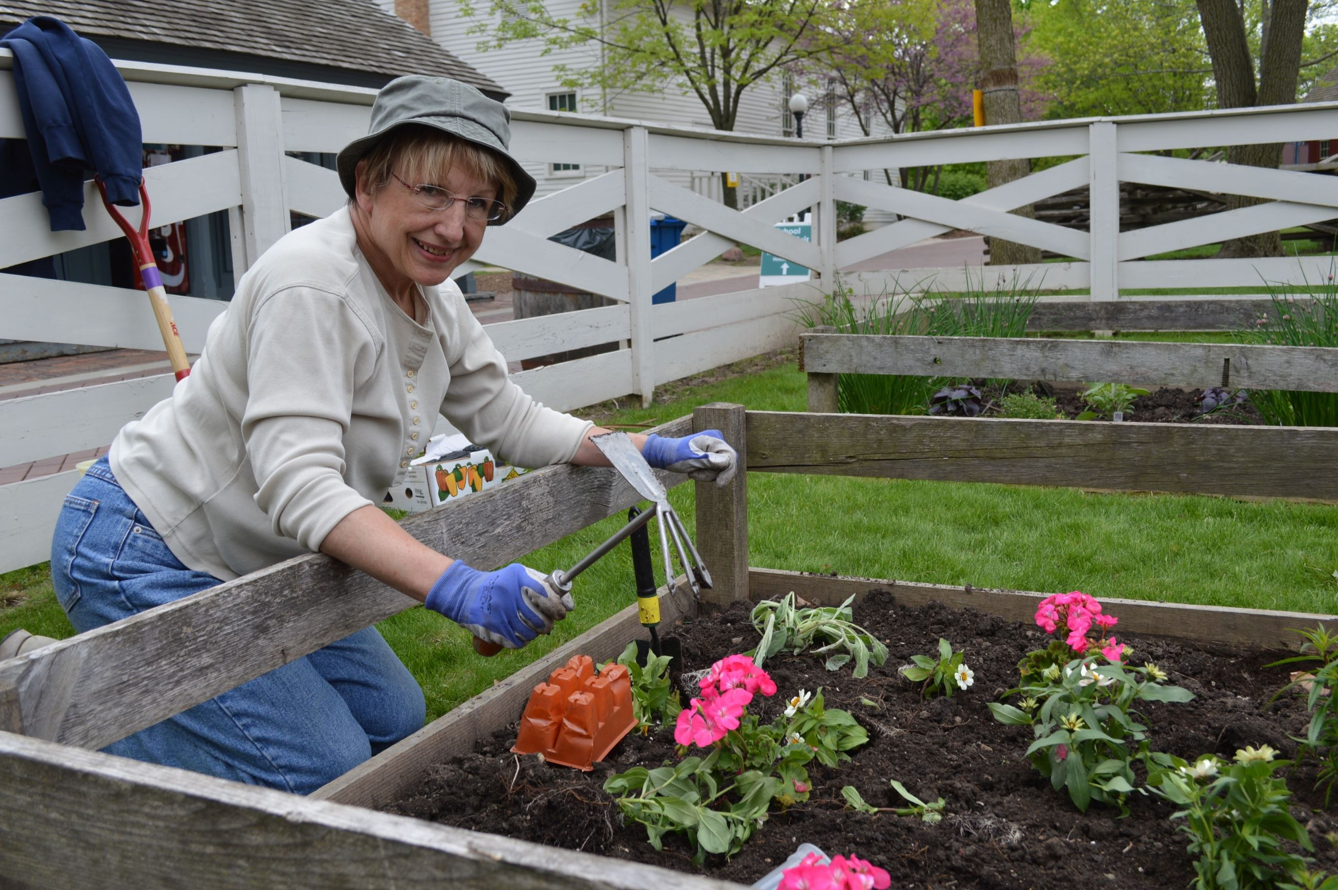 Garden Volunteer at Naper Settlement