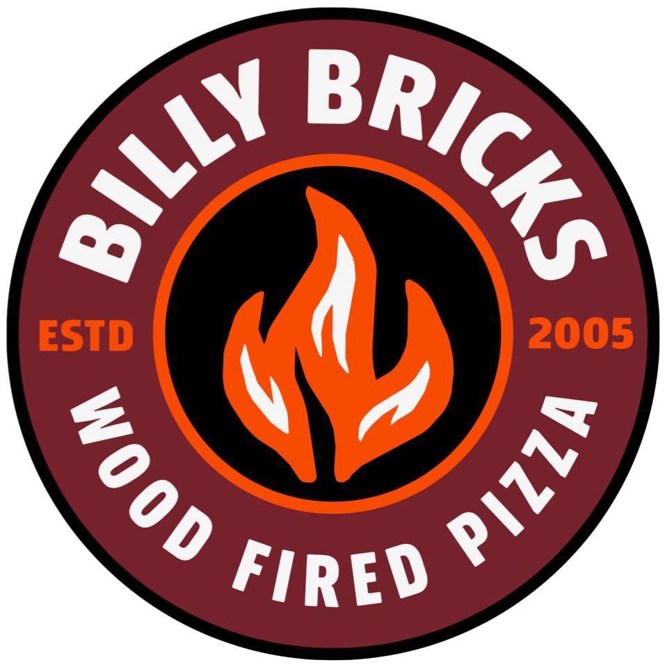Billy Bricks Pizza logo Opens in new window