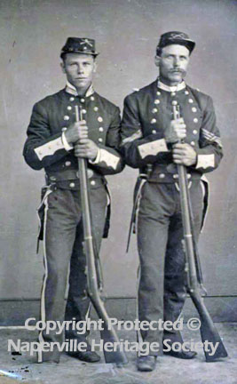 Two Civil War soldiers