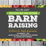Barn Raising Save the Date