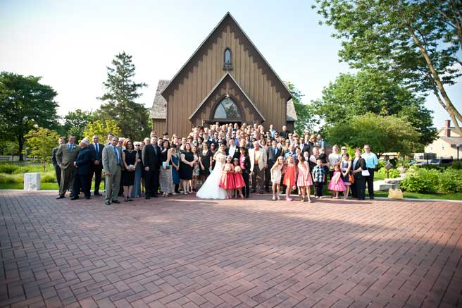 wedding at Century Memorial Chapel