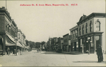 Downtown Naperville postcard