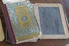 McGuffey Reader and slate