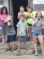 Camp Naper group of kids
