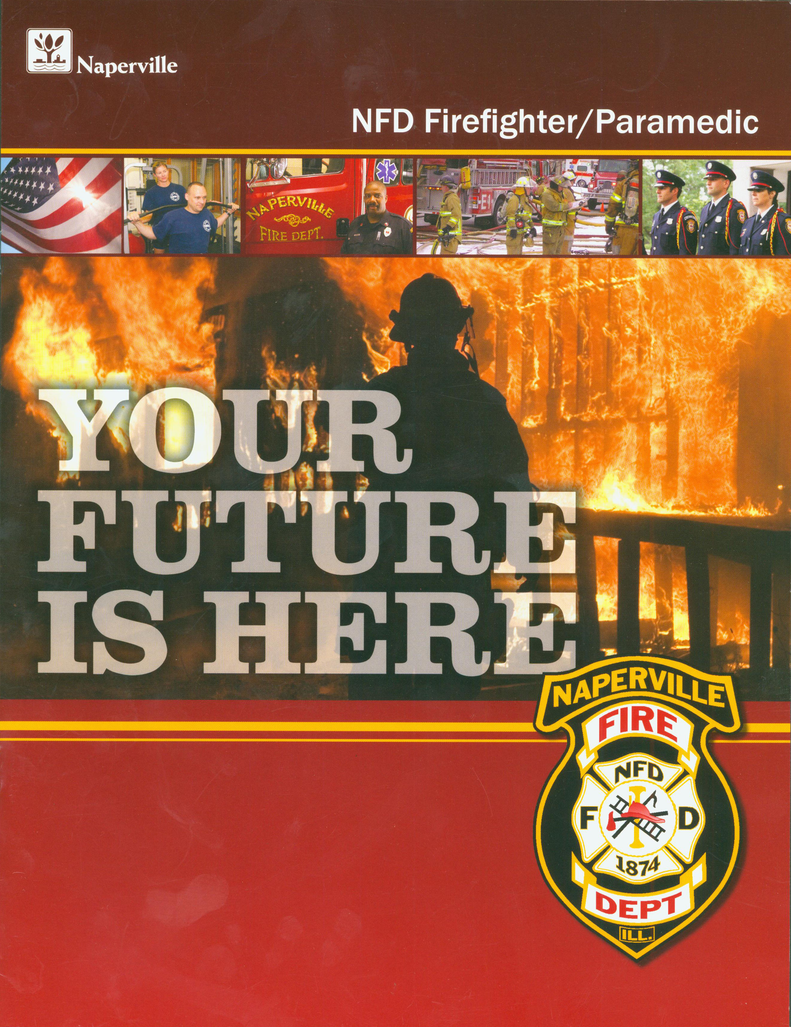 Naperville Fire Department Brochure