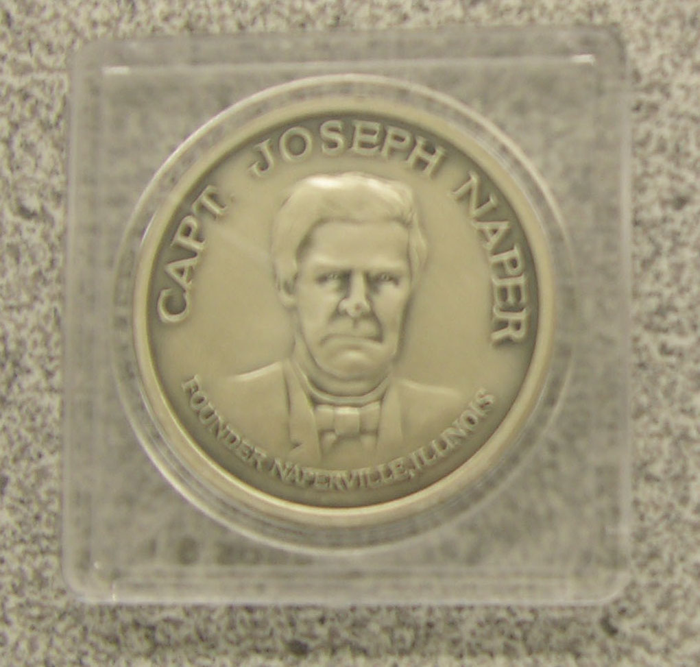 Joe Naper Commemorative Coin