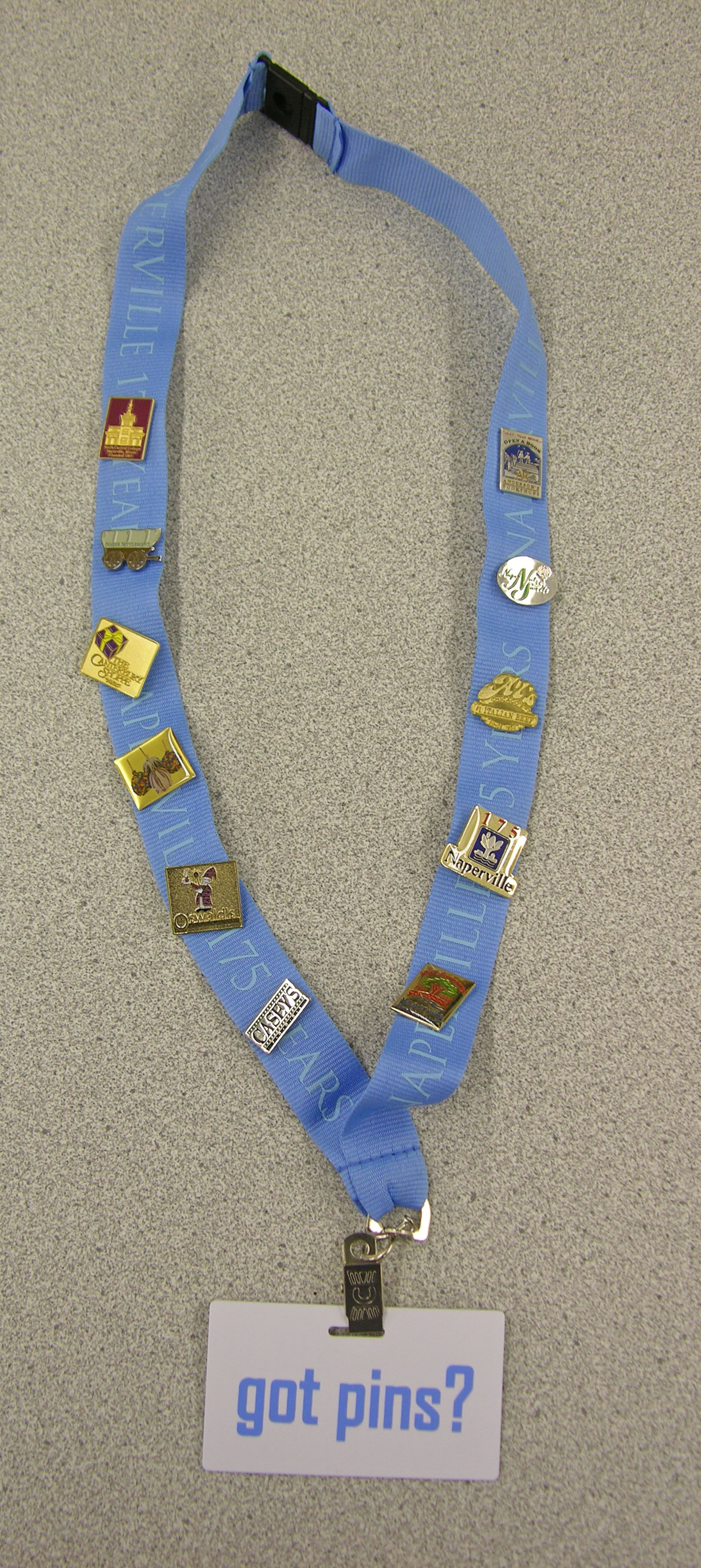 Lanyard with Pins