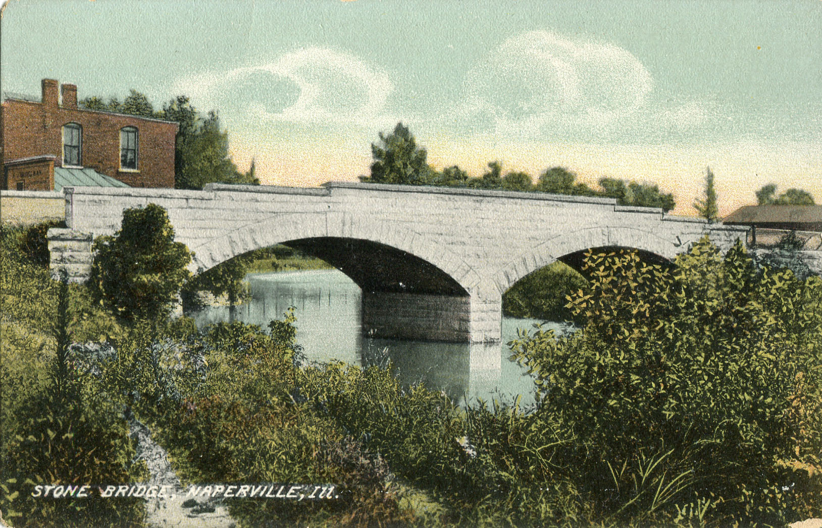Main street bridge postcard