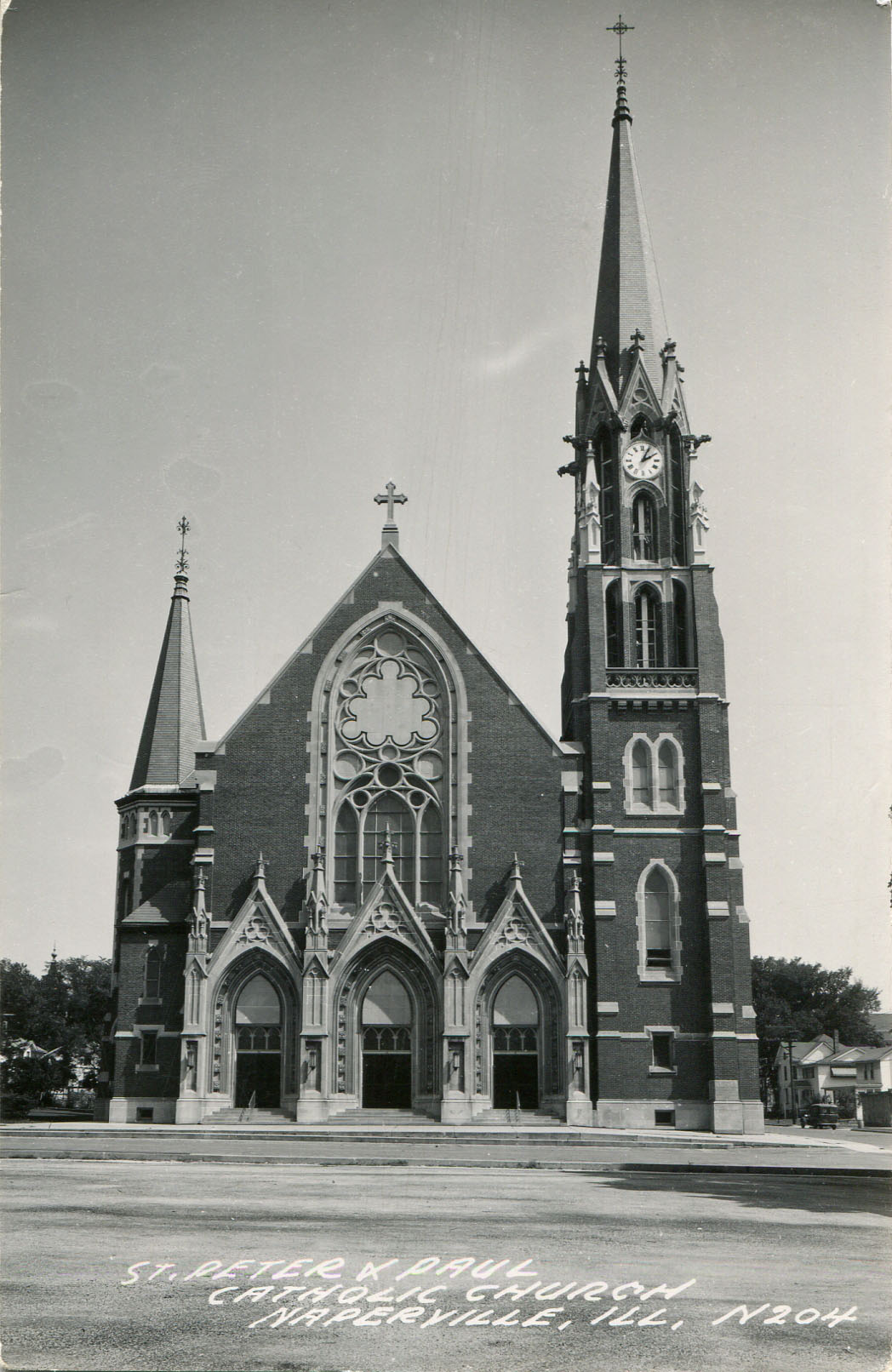 SS Peter and Paul Catholic Church postcard