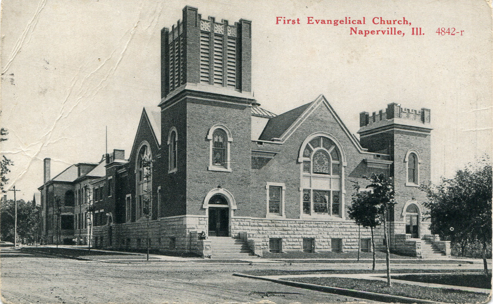 First Evangelical Church postcard
