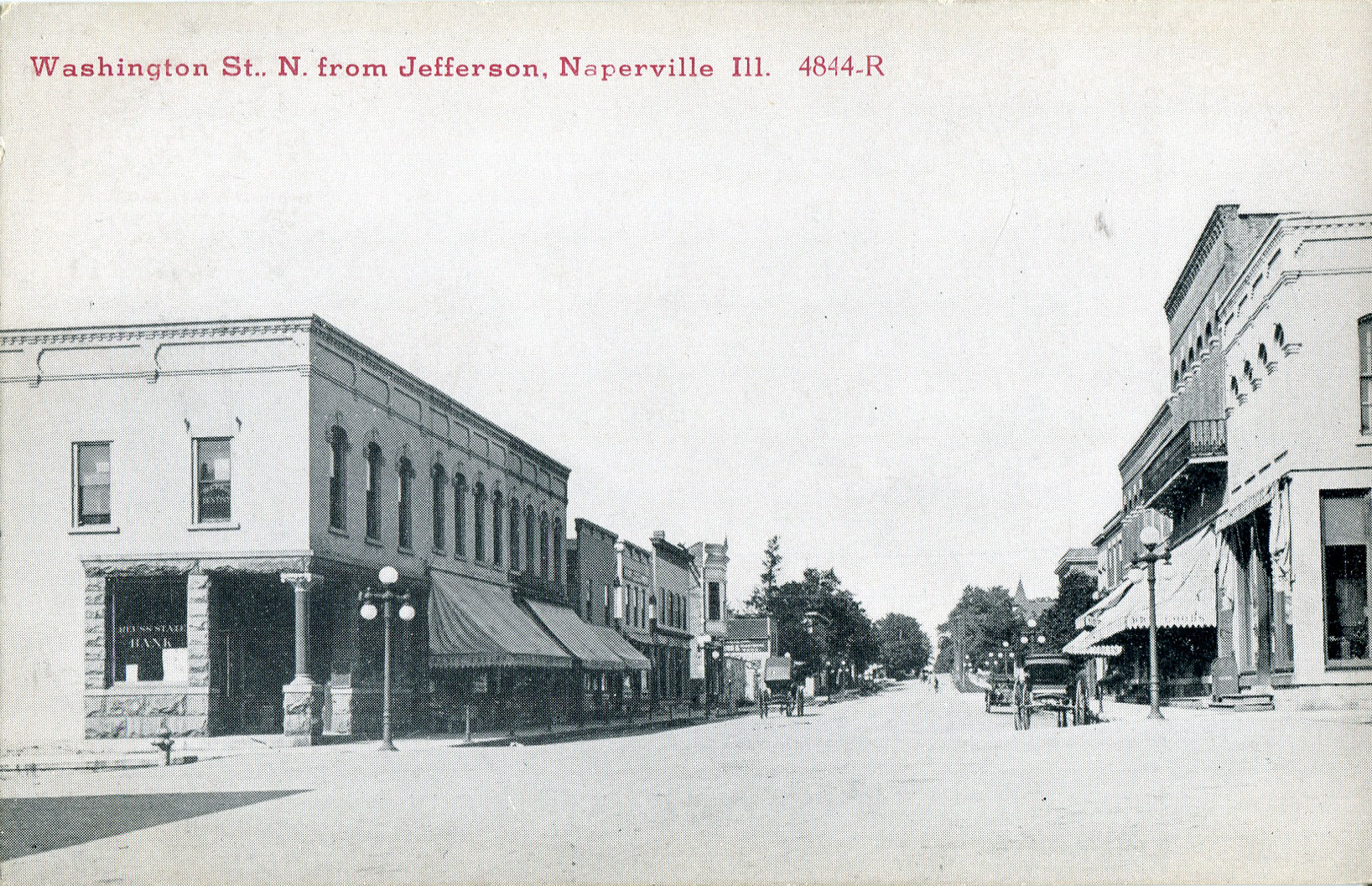 Washington Street postcard
