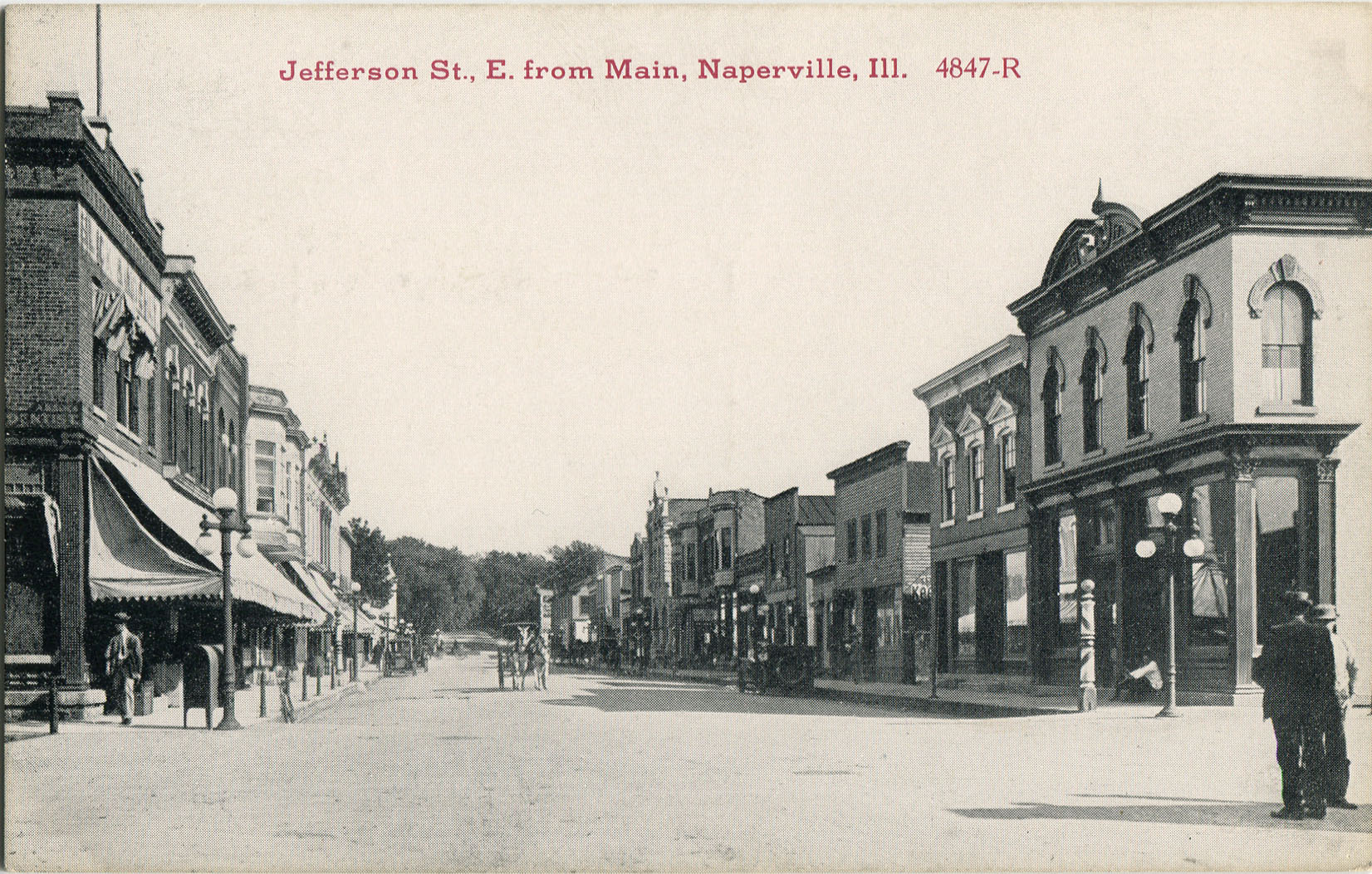 Jefferson Avenue postcard