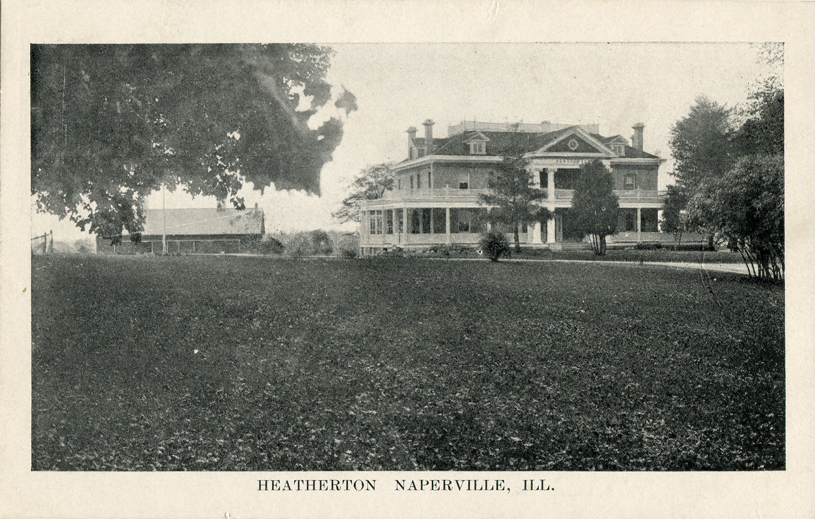 Postard view of Heatherton