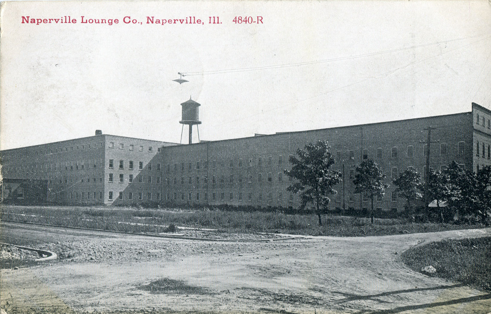 Naperville Lounge Company postcard
