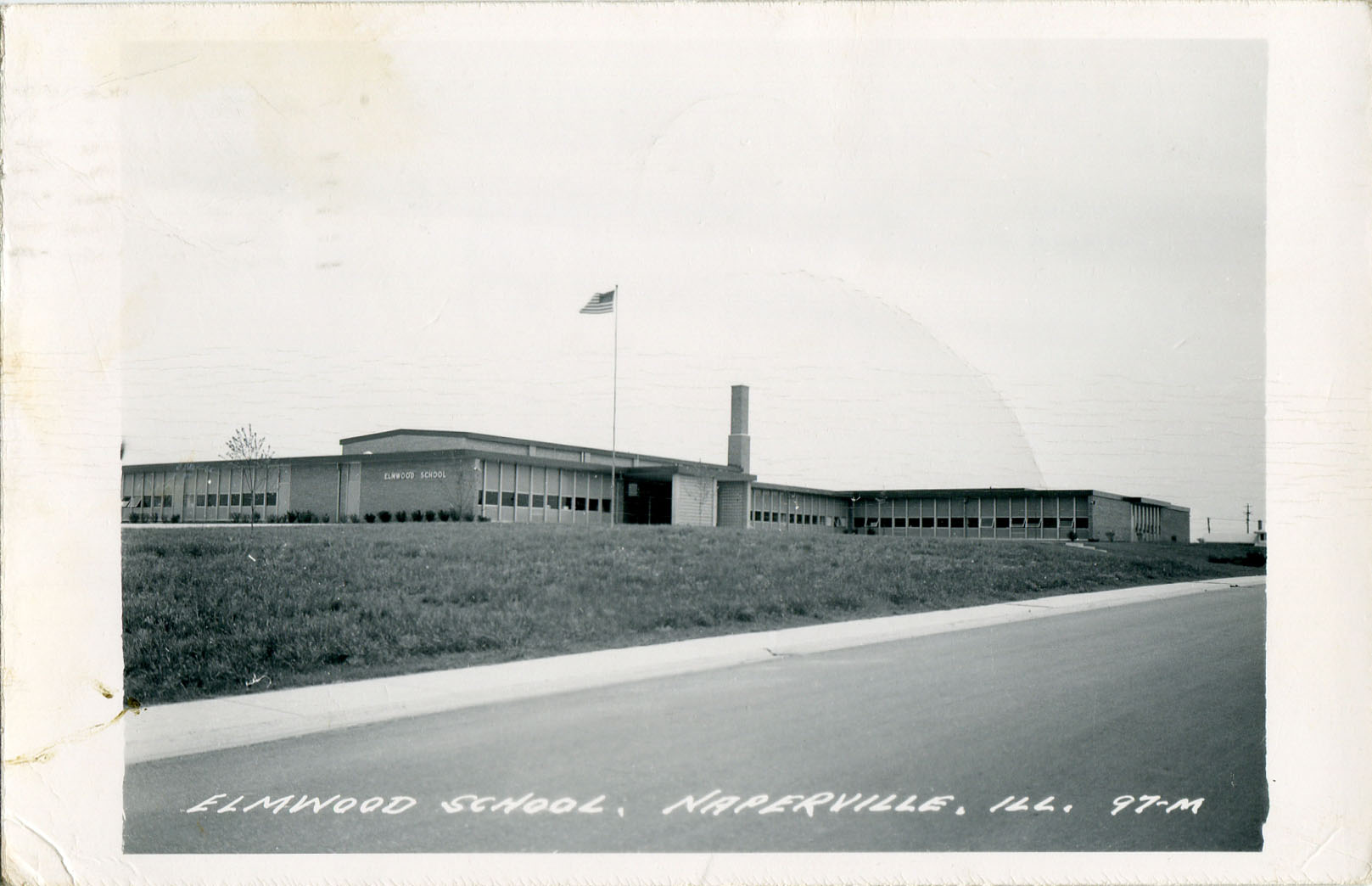 Elmwood School postcard