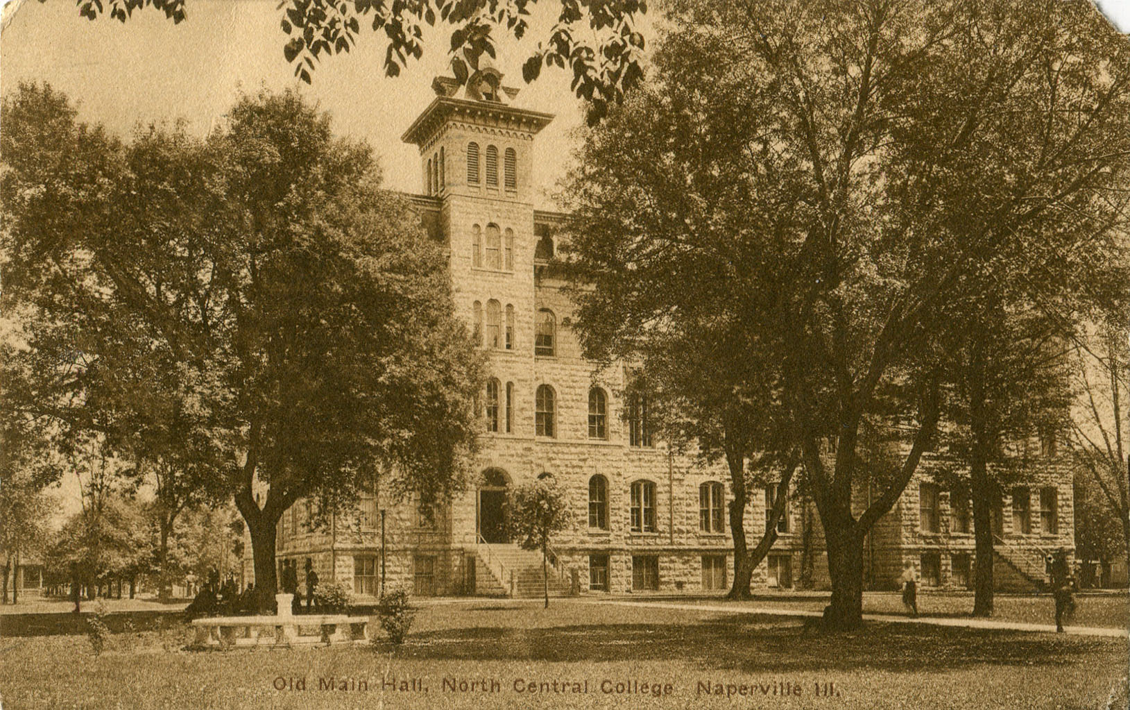 Old Main postcard