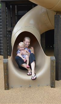Playscape Slide
