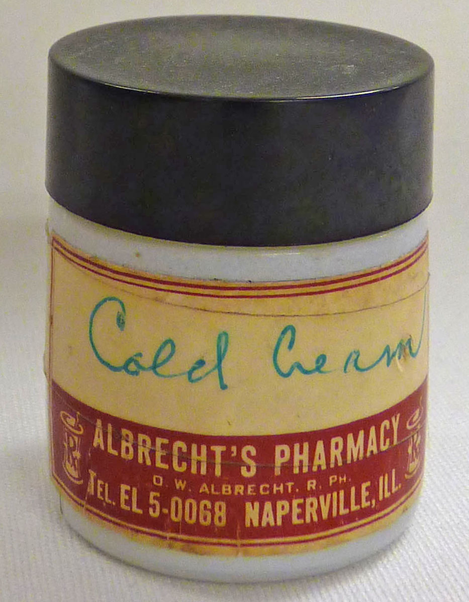 Cold Cream Jar