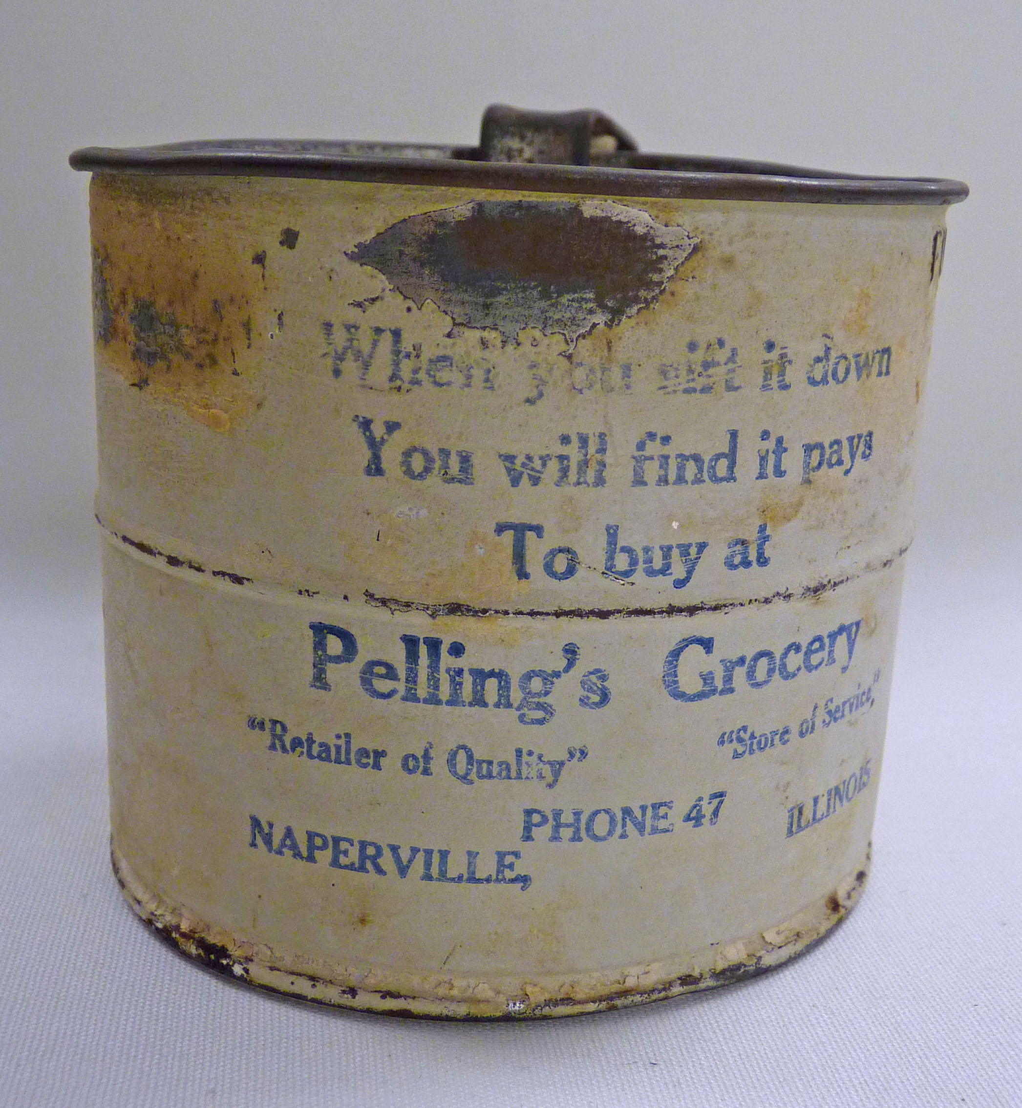 Pelling's Grocery Sifter