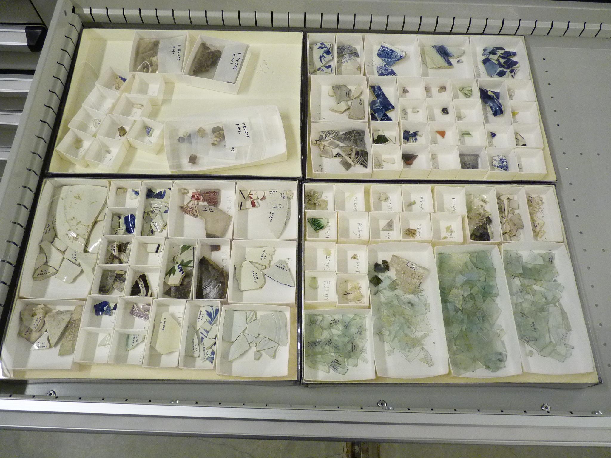 Naper Dig Artifacts