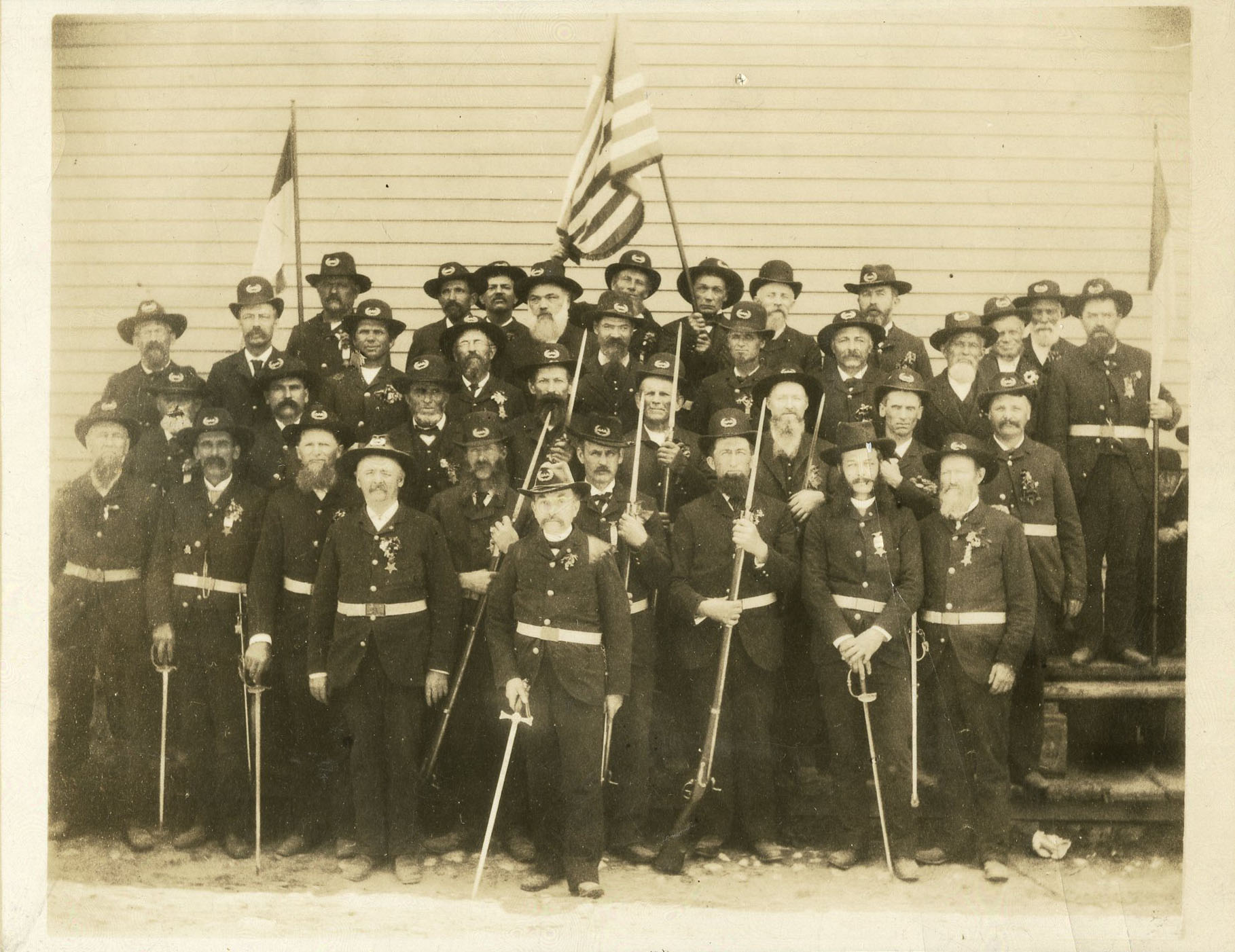 Civil War Veterans Photograph